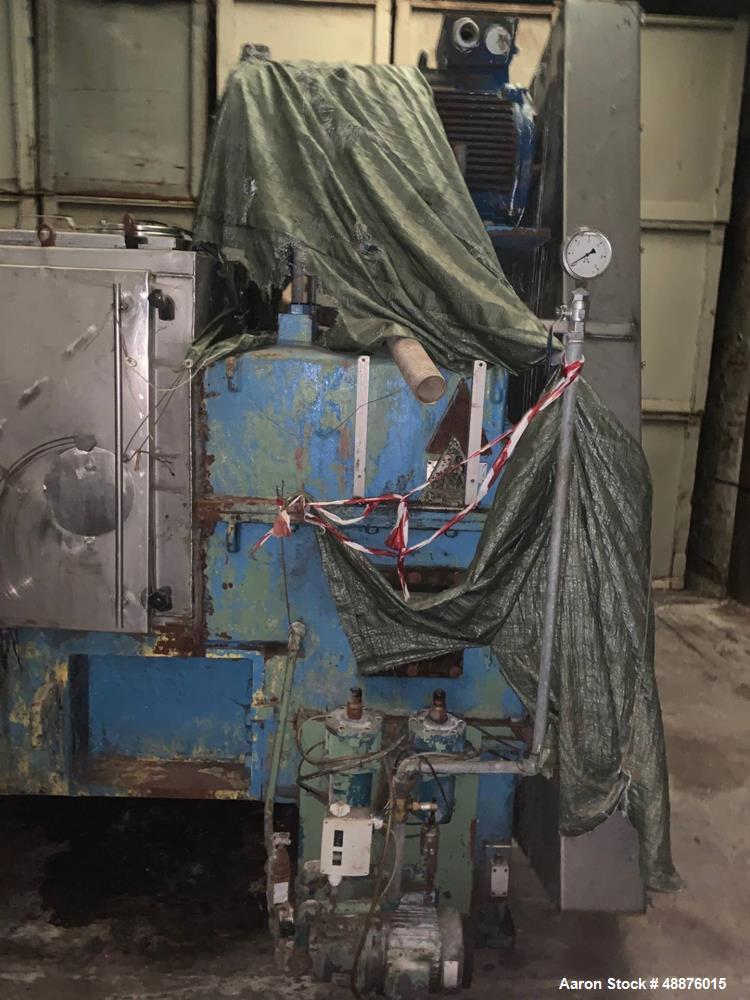 Used- Atlas Babbini Double Screw Press