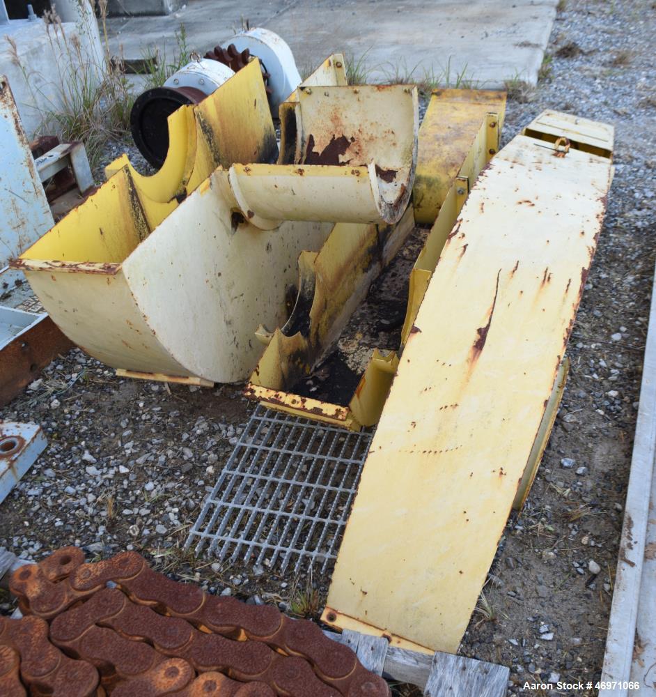 Used- FKC Screw Press Parts Machine, Model SHX-800X6000L