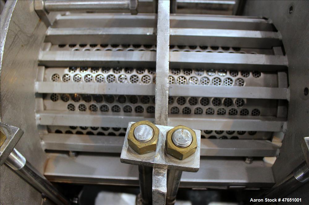 Used- Heyl & Patterson Renneburg Horizontal Screw Press