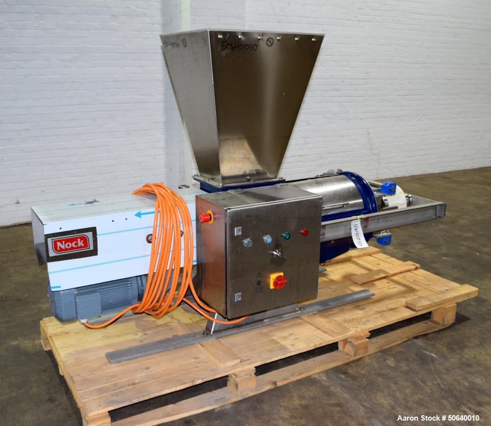 Used- Nock Maschinenbau GmbH Industrial Dewatering Screw Press Separator
