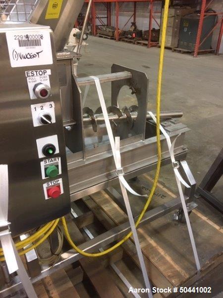 Used- Vincent Corporation De-watering Screw Press, Model KP-6