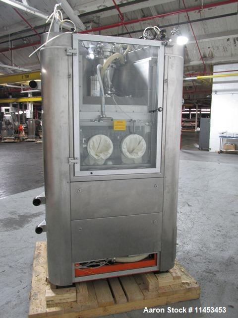 Used-Used IMA Comprima 300 rotary tablet press, stainless steel product contact parts, 36 station turret, 5 mm - 16 mm round...