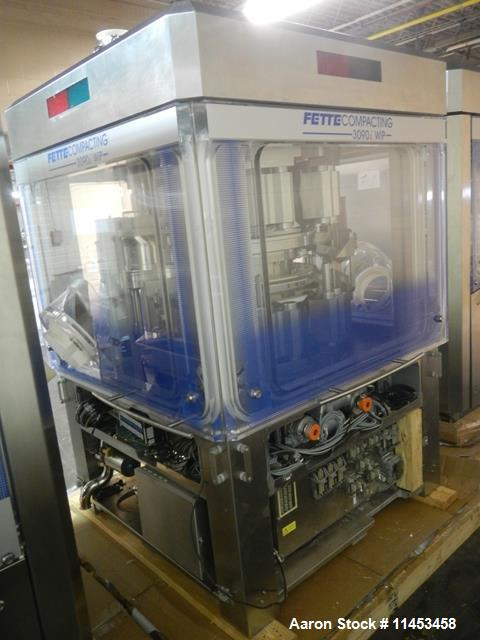 Used- Fette 3090i WiP Rotary Tablet Press With Containment