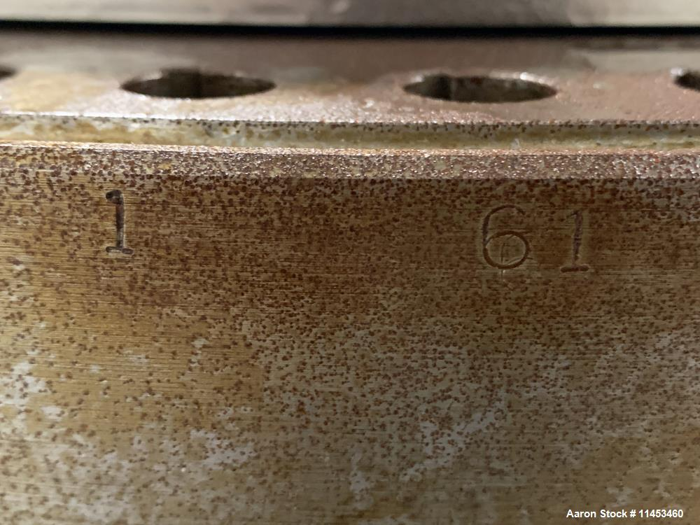Used-One (1) used Fette 3090 turret, 61 station, designed for 16 mm max tablet diameter, 28 mm max depth of fill, keyed uppe...