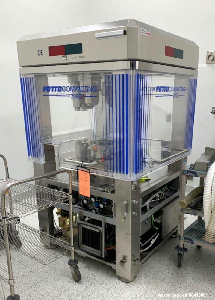 Used- Fette Model 2090iTablet Press.