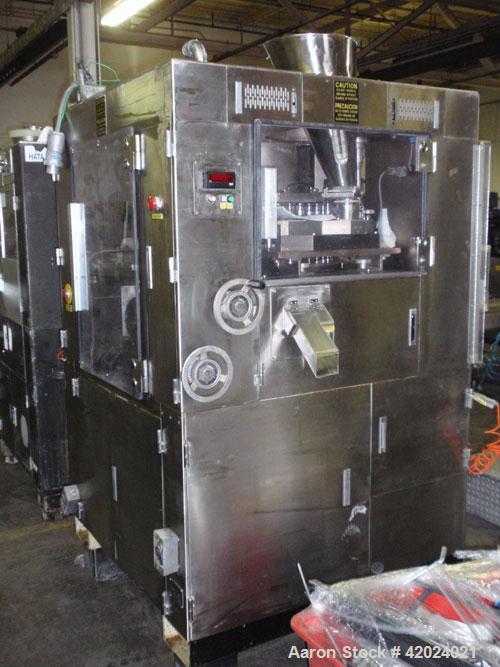 Used- Kikusui Rotary Tablet Press, Model Gemini 1545 AWCZ