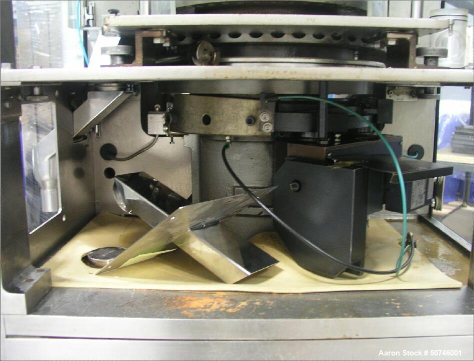 Used- Kikusui Libra Rotary Tablet Press, 45 Station