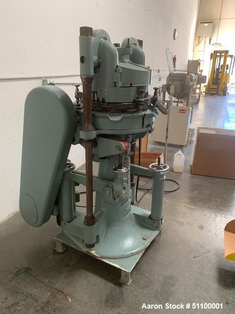 Used- Manesty Rotary Tablet Press, Model BB3B