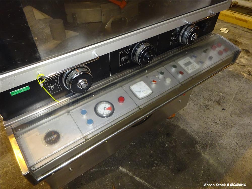 """Used- Manesty Novapress 37 Station """"D"""" Tooling Tablet Press"""