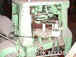 "Used- Manesty ""Rota Press"" Mark IIA High Speed Rotary Tablet. Double sided, approximate 6 1/2 ton, keyed head. Maximum depth..."