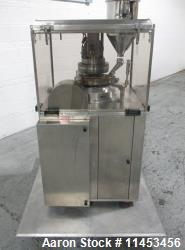 Used CPT (CapPlus Technologies) Econoline-M rotary tablet press, 16 stations, B tooled, keyed upper ...