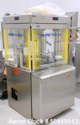 Used- Fette 1200i Tablet Press.