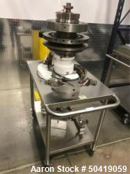 Fette 1200i 20-Station Tablet Press D-Turret With Mobile Transport Cart. HIT# 2272998. Loc: (F005 Sm...