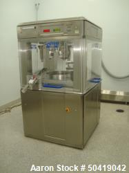 Used- Fette 2090 IC Single Rotary Pharmaceutical Tablet Press