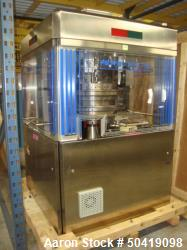 Used-Fette 3090i Tablet Press With 75-Station Turret, Number of Punch Holders 27-79, Year of Manufacture 2005. 400V, 3-Ph, 5...