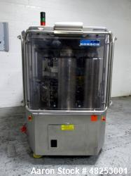 Korsch Rotary Tablet Press, Model XL800. 100 Kn Main compression with 100 kN pre-compression, 87 st...