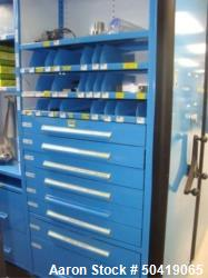 Manesty 500/ 700 Manesty Parts Supply To Include Contents of 8-Drawers & 4-Shelves Of Assorted  Lube...