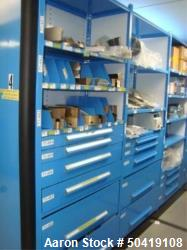Manesty 500/ 700 Manesty Parts Supply To Include Contents of 11-Drawers & 6-Shelves With Assorted F...