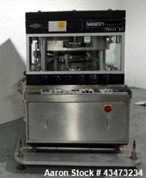 Used-  Manesty Rotary Tablet Press, model Mark IV