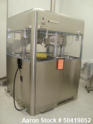 Manesty (Bosch) X-Press 700 Double Sided Pharmaceutical Tablet Press With 73-Station Turret & Mobile...