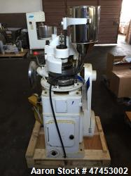 Noah (15) Station Rotary Tablet Press, Model ZP15. Maximum pressure 50KN, approximate production ca...