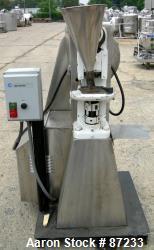Used- Stokes Single Station Press, Model F