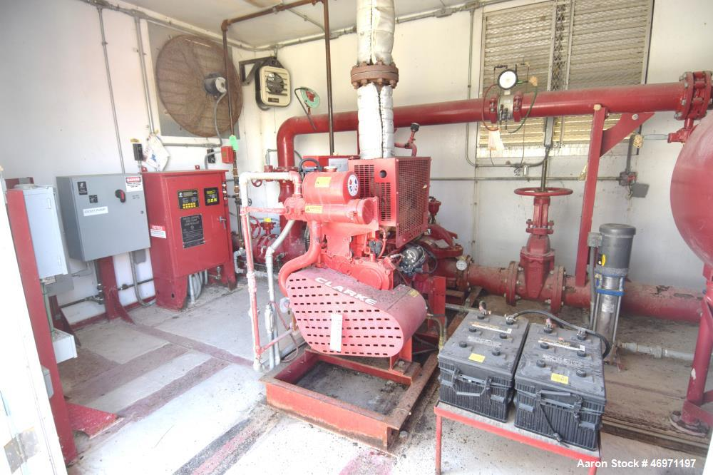 Used Clarke Fire Protection Products Diesel Driv
