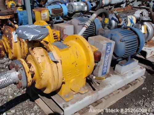 Used- Carbon Steel Kontro Centrifugal Pump, Model HSIDL