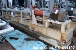 Used- Borets HPS Horizontal Multistage Centrifugal Pump, Type 538/3600, Carbon Steel. Approximate 45 gallons per minute. Opt...
