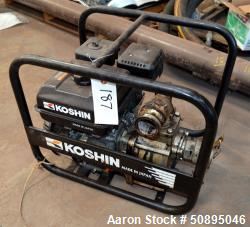 Used- Koshin Gas Power Centrifugal Pump, Model K-180