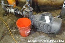 Used- MP Pump Centrifugal Pump, Model 50194, Carbon Steel. Driven by a 25hp motor. Serial# 1610737.
