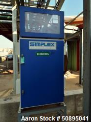 Used-Simplex Packaged Pump Set, Model SPS-25-ED, 7 Gallons Per Minute At 20 Lift. Consists of (2) 3/4hp pumps, and a control...