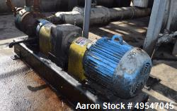 Used- Viking Gear Pump, Model L224A, Carbon Steel. Driven by a motor. Serial# 11900601.