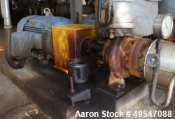 Used- Flowserve Centrifugal Pump, Model ZTND-100-200, Carbon Steel. Driven by a 60hp motor. Serial# S11522516-01.
