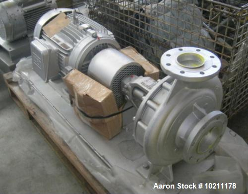 Unused- Sihi Centrifugal Pump, Model AA-002-1B2