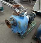 Used- Allonda Prime Series Self-Priming Centrifugal Pump, Model S-6, Carbon Steel. Driven by a 15hp motor. Base mounted. Ser...