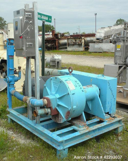 Used- Carbon Steel Weir Roto-Jet Centrifugal Pump, Model RBG-S-266-330