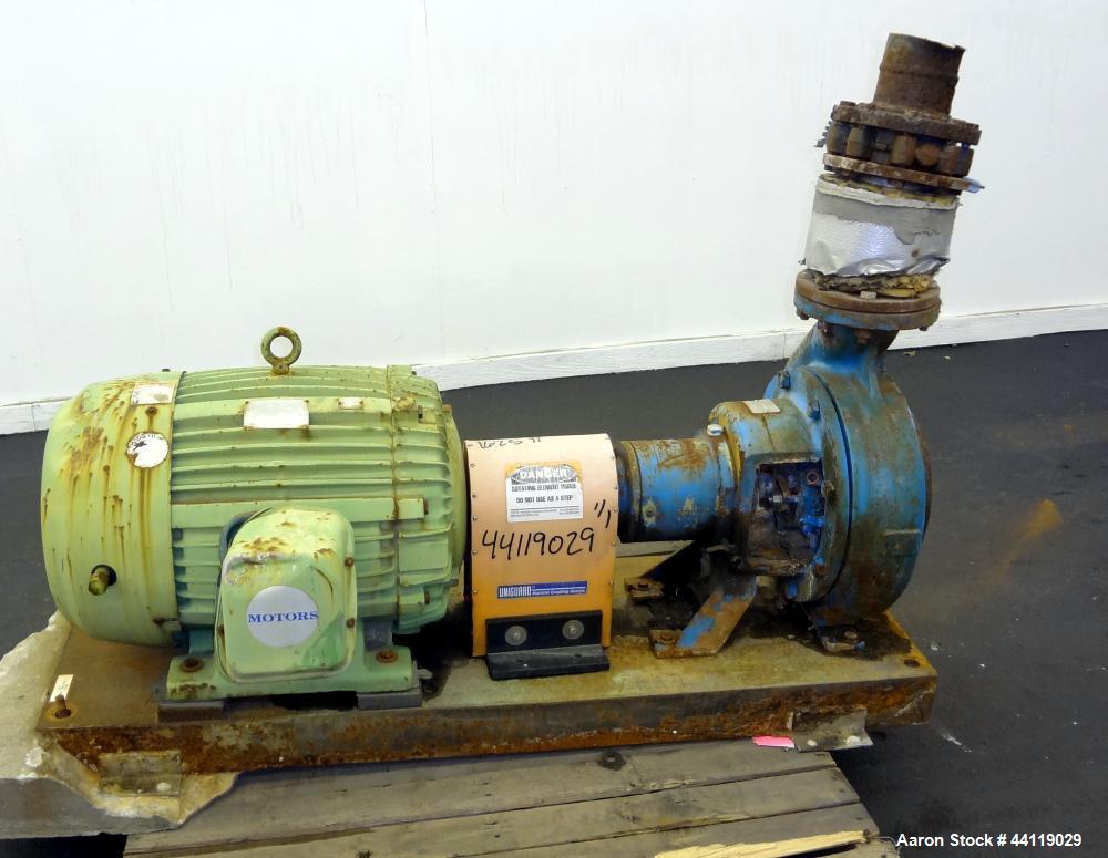 Used- Worthington Centrifugal Pump, Size 6X4X13,