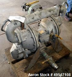 Used- Warren Rupp Sandpiper Diaphragm Pump, Model HDF3DN7. Serial# 1569869, built 2007.