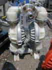 Used- Wilden Diaphragm Pump, poly construction, 2