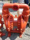 Unused- Wilden Air Operated Double Diaphragm Pump, Model M8, carbon steel construction. Rated approximately 156 gallons per ...