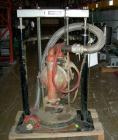 Used- Wilden M15 Pneumatic Double Diaphragm Pump. Unit operates by applying compressed air directly to liquid column separat...