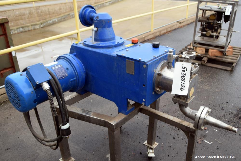 Used- Bran+Luebbe Plunger Metering Pump, Model H4-31