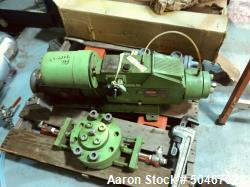 Used-PulsaFeeder diaphragm metering pump, Model 7440-S-AE, series 40, nominally rated 8.55 gph at 330 psi, with 5 hp, 230/46...