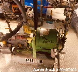 Used-PulsaFeeder diaphragm metering pump, Model 880-S-AE, nominally rated 10 gph at 290 psi, with .5 hp, 230/460 volt XP mot...