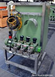 Used- Stainless Steel Lewa Metering Pump, Type HK16-3