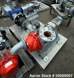 Vogelsang Dual Universal Rotary Lobe Pump System, Carbon Steel. Consisting of : (1) Vogelsang IQ112...