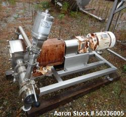 Used- Alfa Laval Rotary Lobe Positive Displacement Pump, Model SRU5/116/LS