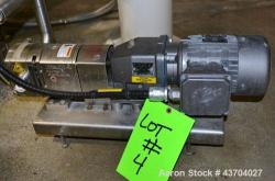 Used- Stainless Steel Flowtech Unibloc Postive Displacement Pump