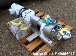 Used- Watson Marlow Masosine Sine Rotary Positive Displacement Pump, Type MR 130